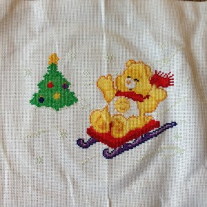 Funshine Care Bear Sledding