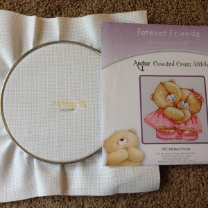 UFO - Forever Friends - Best Friends - Cross Stitch