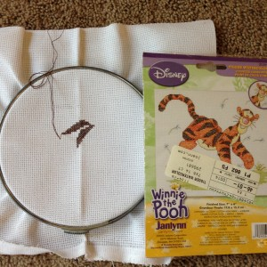 UFO - Tigger - Cross Stitch