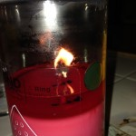 Diamond Candle - Water Melon Ridge - No ring Been bring since 9:30am to 12:45am EST - Over  15 hours :(